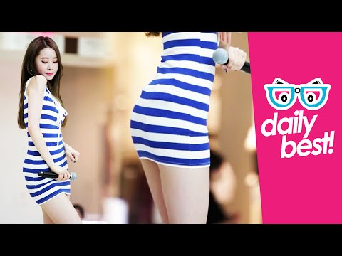 #MelodyDay's Chahee tight dress hot! [DAILY BEST] Sexy Korean Kpop Girl Fancam