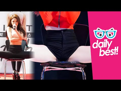 #Fiestar's Jei sexy open legs moves! [DAILY BEST] Hot Korean Kpop Girl Fancam