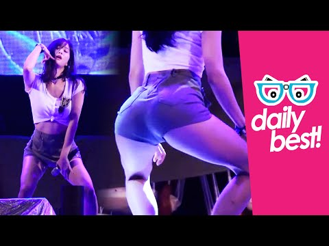 #Tahiti's Jisoo super hot! [DAILY BEST] Sexy Korean Kpop Girl Fancam