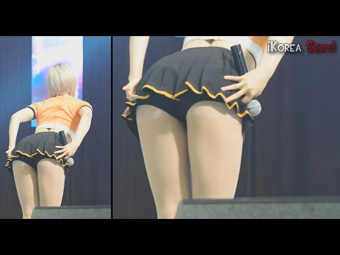 "[FanCam] AOA (Choa) ""Miniskirt"" #2 @¡Korea Sexy!"