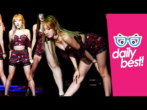 #Stellar's Minhee sexy moves! [DAILY BEST] Hot Korean Kpop Girl Fancam
