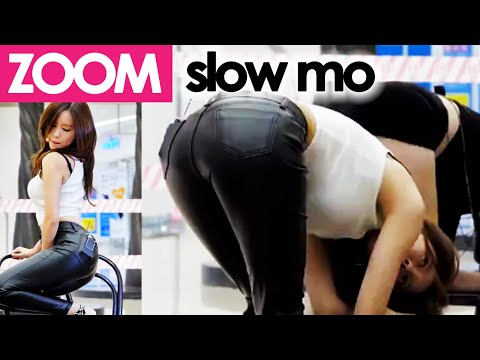 T-ARA's Hyomin sensual slow mo 60fps!!! [ZOOM HD 60fps + REPLAY] hot kpop girl fancam cover