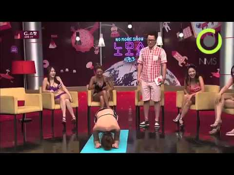 BEAUTIFUL SEXY GIRLS ON GAME SHOW   Sexxxyyy Funny Korean Game Show = No More Show =  노모쇼 NMS   Y