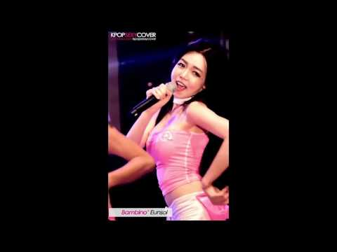 Sexy Korean Kpop Girl Fancam – Bambino's Eunsol showing her abs 60fps! [DAILY BEST]