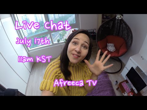 I'll Be Doing Live Chats on Afreeca TV