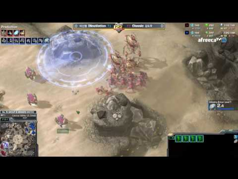 [2017 GSL Season 1]Code S Ro.16 Group B Match3 Classic vs INnoVation