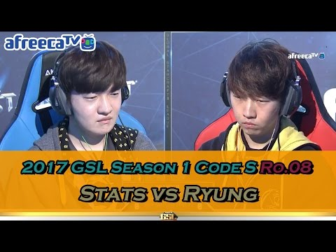 [2017 GSL Season 1]Code S Ro.4 Match2 Stats vs Ryung