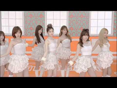 [720p 60fps] MV T-ara Bunny Style White Dance ver.