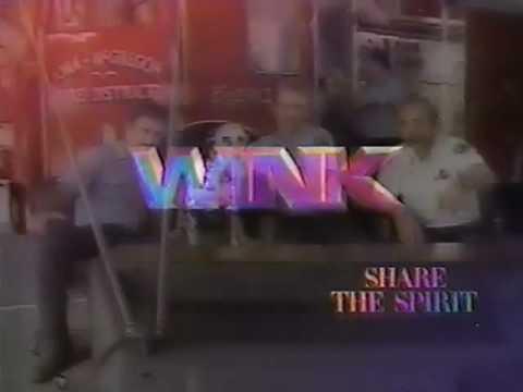 "WINK-TV 1986 ""Share The Spirit"" Image Promo CBS"