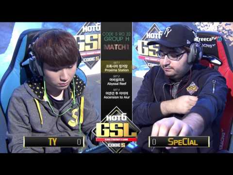 [2017 GSL Season 3]Code S Ro.32 Group H Match1 TY vs SpeCIaL