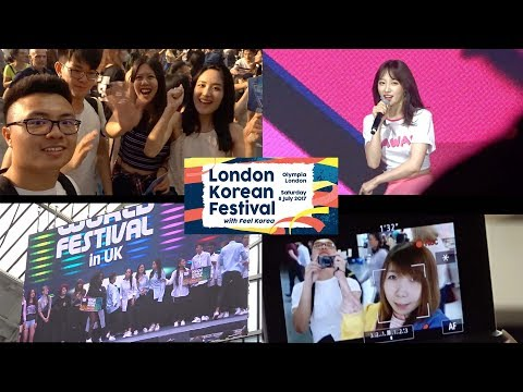 VLOG: LONDON KOREAN FESTIVAL 2017 (60FPS) KPOP!