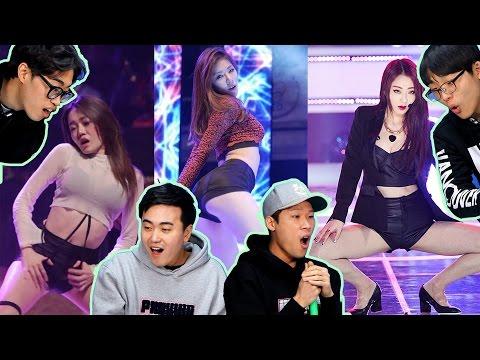 Korean Guys React To SEXY Female Kpop Fan Cam [Korean Bros]