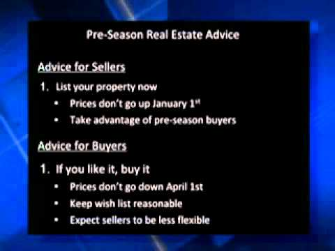 Real Estate Matters: Pre-season pre-election act now or wait? – WINK TV October 04, 2012