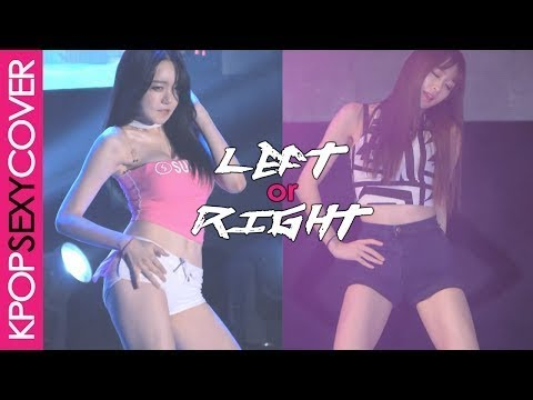 LEFT or RIGHT: Eunsol VS Hani! [BATTLE] Hot Korean Kpop Girl Fancam – Love