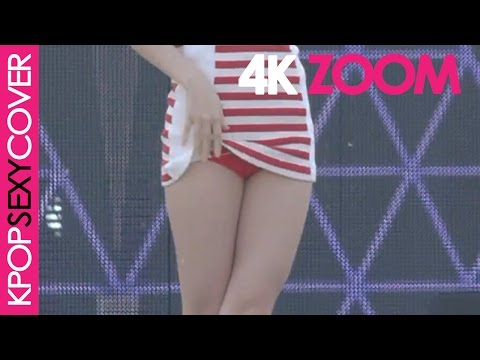 Fiestar's Jei up-skirt or not?! [ZOOM 4K] Hot Korean Kpop Girl Fancam