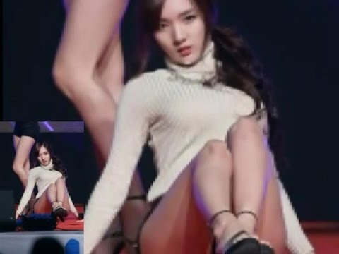 I love sexy korean girls dance Stellar 스텔라   MinHee fancam 5