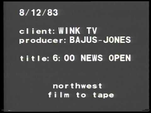 WINK-TV News Opens 1983