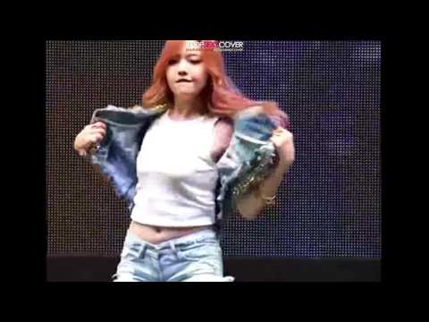GirlsDay's Minah mini short butt! DAILY BEST Hot Korean Kpop Girl Fancam