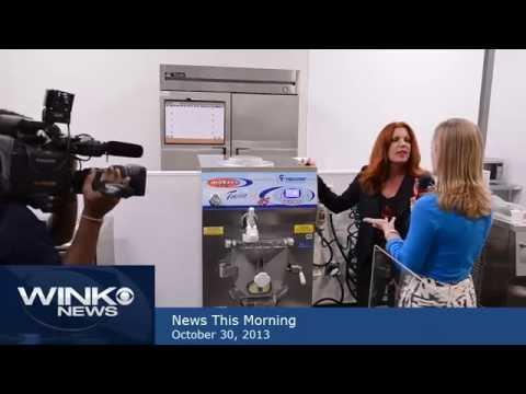 WINK TV News Gelato Lab Segment 3