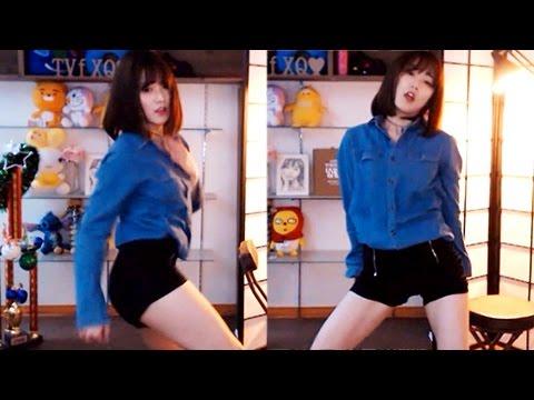 cute korean girl dance sexy very sexual