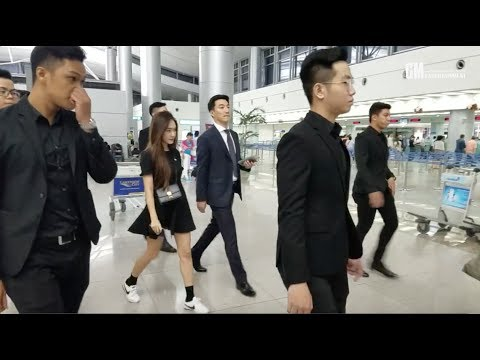 [FANCAM] 160724 Jessica @ Tan Son Nhat Airport back to Korea