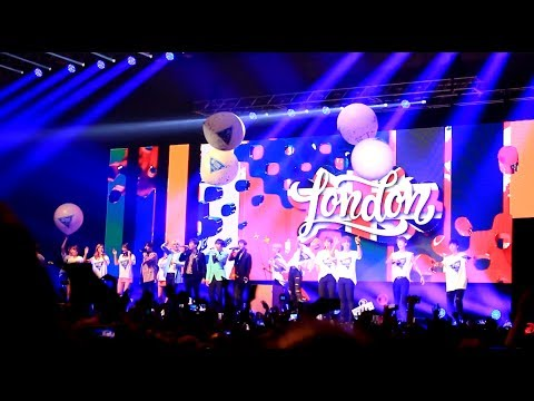 [Fancam] KNK, SNUPER, E.X.I.D, HIGHLIGHT 2017 Feel Korea in London!【Xina】