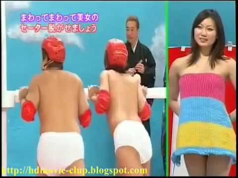sexy japanese game show  undress girl