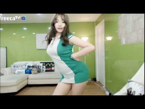 hot korean girl dance with sexy body