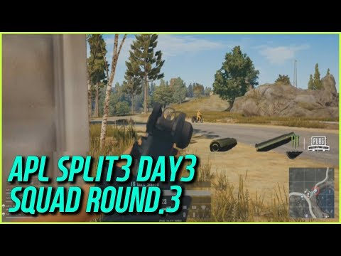NTT 라이벌팀 등장… AFREECATV PUBG LEAGUE 스플릿3 DAY3 스쿼드 ROUND.3 [BATTLEGROUNDS]