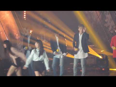 [FANCAM 직캠] 171001 EXO CBX 엑소 첸백시 -being cute dorks/ interactions @ Korea Music Festival 팬덤스쿨 코뮤페