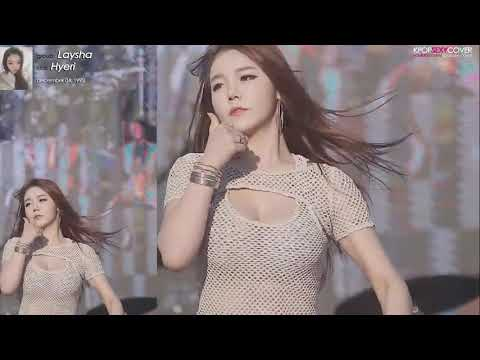 Laysha's Hyeri Chocolate Cream performance! [ZOOM 4K] Hot Korean Kpop Girl Fancam