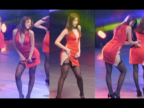 AOA HYEJEONG MINI SKIRT FANCAM HD 60FPS 140219