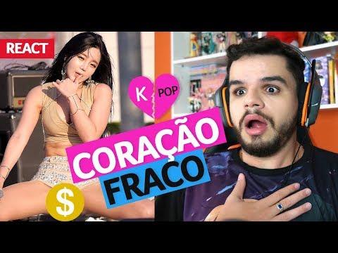 Reagindo a FANCAM de K-POP a 60fps EU MORRO!