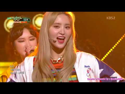 [EXID – LADY] KPOP TV Show | KBS Music Bank 180413 [60FPS]