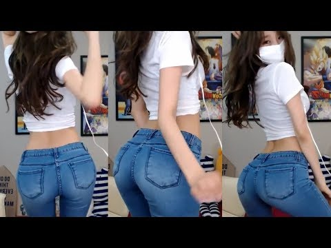 [BJ] sexy dance ,tight jeans (スキニージン ダンス)