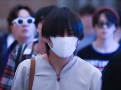 180522 BTS at LAS Airport Heading Back to Korea [HD Fancam + Photo]
