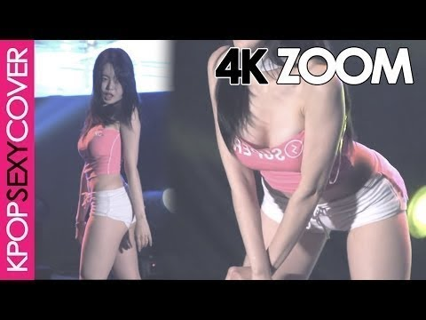 Bambino's Eunsol playing on stage! [4K ZOOM] Hot Korean Kpop Girl Fancam | Korean Sexy Girl