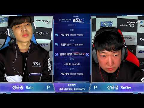 AfreecaTV StarLeague(ASL) S5 FINAL Highlight