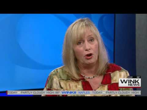 Lorri Benson on WINK TV News, Ft. Myers, FL
