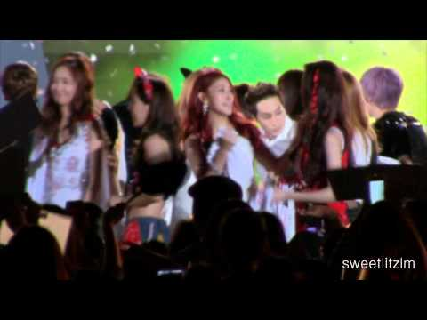 130901 Taeyeon Fancam Ending [Incheon Korean Music Wave Concert 2013]