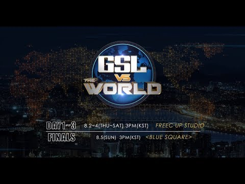 [Promo] 2018 GSL vs. the World