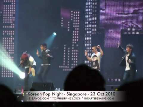 "[FANCAM] Korean Pop Night (Singapore) – Big Bang – ""Lies"" – 23 October 2010"