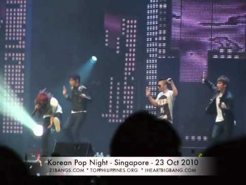 "[FANCAM] Korean Pop Night (Singapore) – Big Bang – ""Lies"" – 23 October 2010"