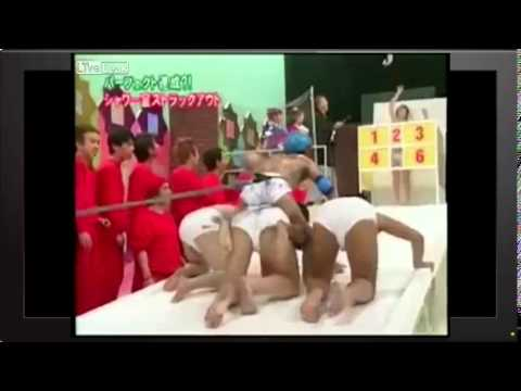 Strip the girl…. Japanese Game Show