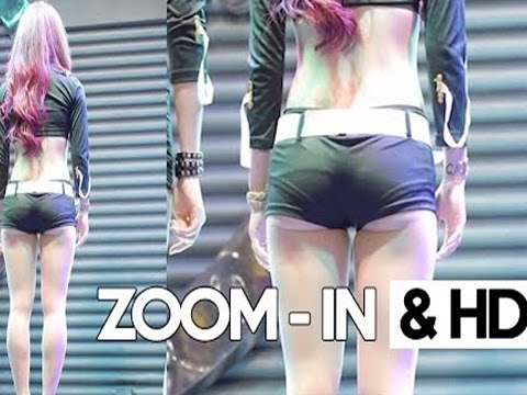 Sexy Korean Kpop Girl Fancam  Bambinos Eunsol showing her abs 60fps DAILY BEST