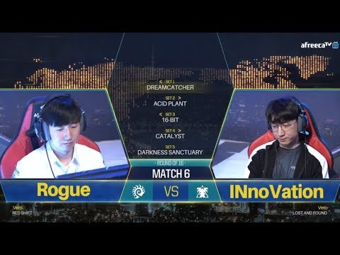 [GSL vs. the World 2018] Ro.16 Day2 Match2 Rogue vs INnoVation