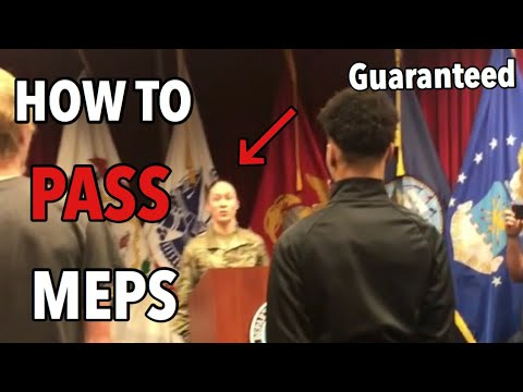 HOW I PASSED MEPS TWO TIMES !! | WHAT DO YOU DO THERE ??