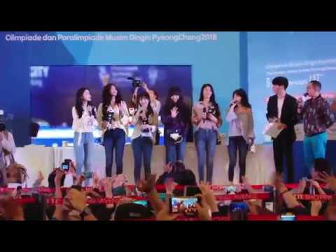 [Fancam|60fps] 171109 #AOA intro (ENG caption) @ Lotte Shopping Avenue, Jakarta, Indonesia