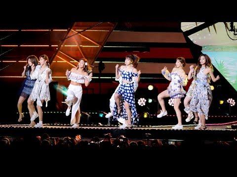 """180908 트와이스 (TWICE) """"Dance The Night Away"""" [4K] 직캠 Fancam (코리아뮤직웨이브) by Mera"""