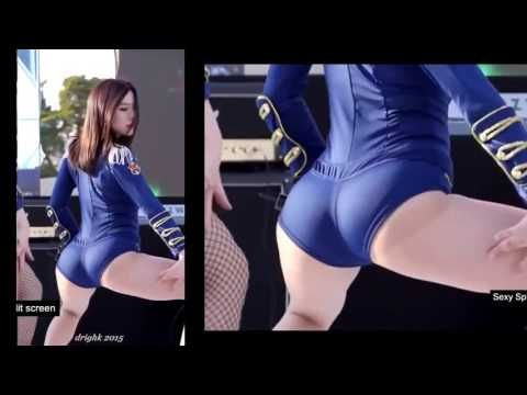 Fancam wait a minute Sexy butt cheeks Korean girl dance